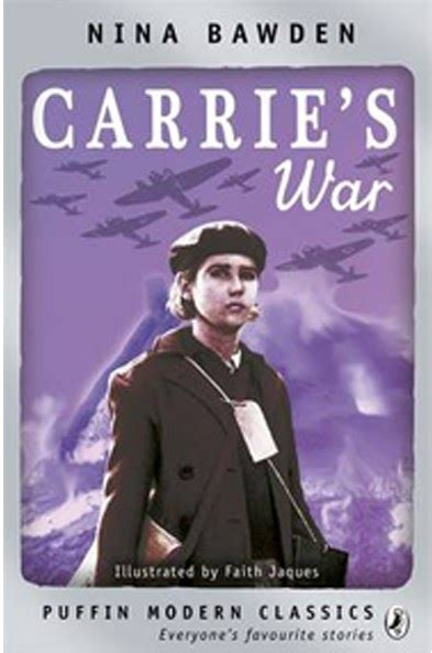 carries war a puffin children s war books carrie s war by nina bawden