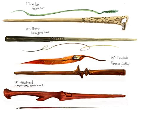 wand designs by oneoftwo on deviantart - Wand Designs