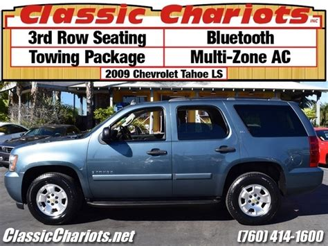 ls for sale near me sold used suv near me 2009 chevrolet tahoe ls with