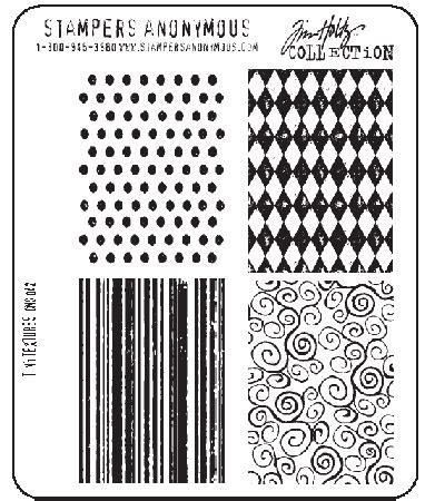 rubber number sts tim holtz cling rubber st set tiny textures