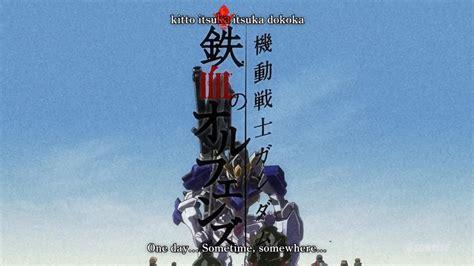 Gundam Mobile Suit 54 fansub review manko mobile suit gundam iron blooded
