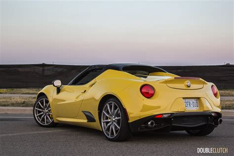 2017 alfa romeo 4c spider review doubleclutch ca