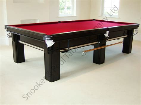 connoisseur 10 x5 snooker table chrome inserts square leg