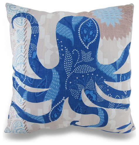 Themed Pillows by Barrier Reef Octopus Themed Indoor Outdoor Throw