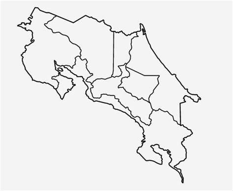 imagenes satelitales para colorear mapa de costa rica por provincias para colorear