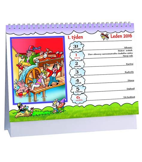 Table Calendar 2016 Table Calendar čtyřl 237 Stek 2016