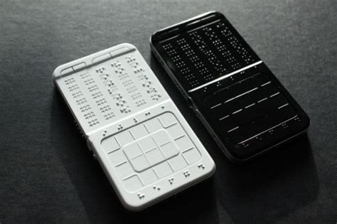 Blind Phone drawbraille phone concept texting for the blind technabob
