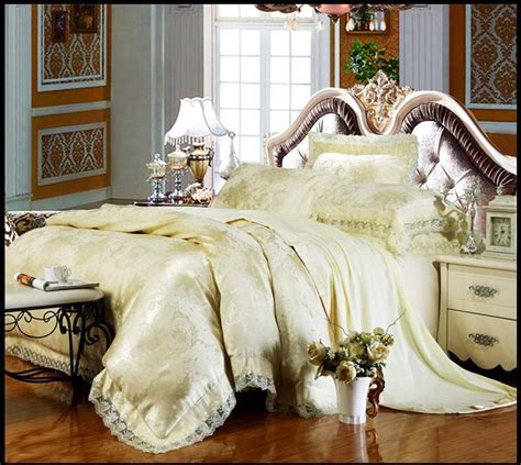 2016 new wedding bedroom bedding sets luxury silk cotton