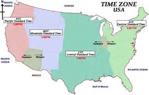 usa time zone