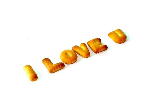 Letter Biscuit Free Photo Food Alphabet Biscuit Letter Free Image