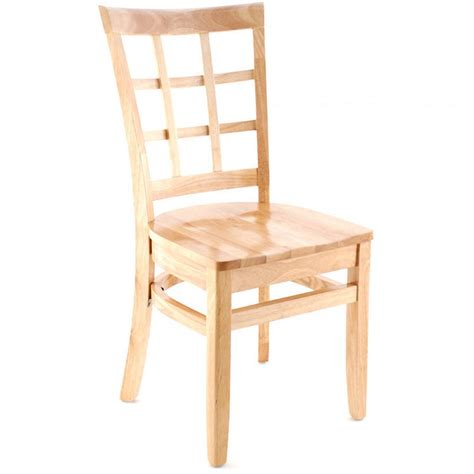 Premium Chairs by Premium Us Made Window Back Wood Chair