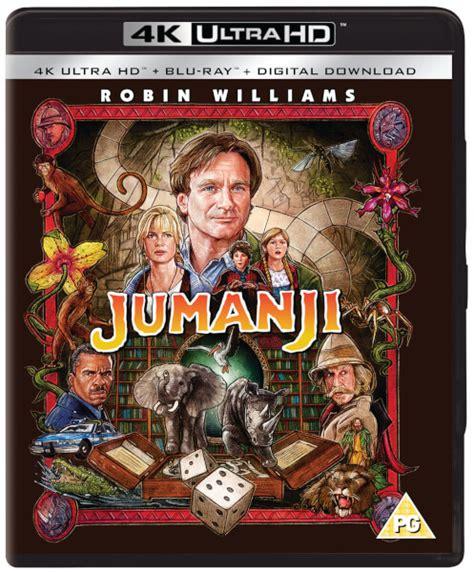 jumanji movie description jumanji 1995 4k ultra hd blu ray zavvi