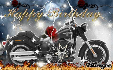 Happy Birthday Wishes For Bikers Happy Birthday Picture 113449474 Blingee Com