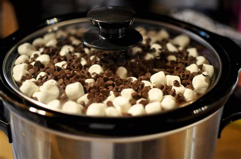 desserts crockpot bless this food rocky road crock pot cake