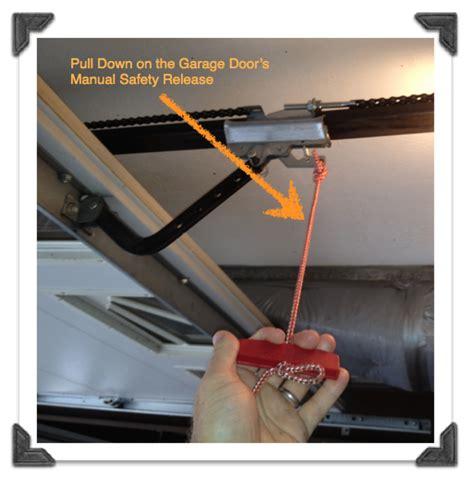 reset garage door opener