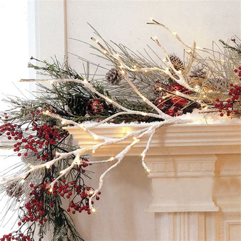 mantel decor my simple winter mantel lighted branches epsom salt and urn 11 awesome and worth making rustic christmas decorations