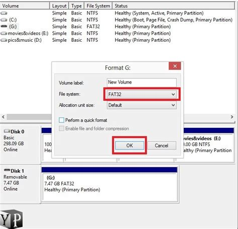 format fat32 syntax how to format usb to fat32 file system youprogrammer