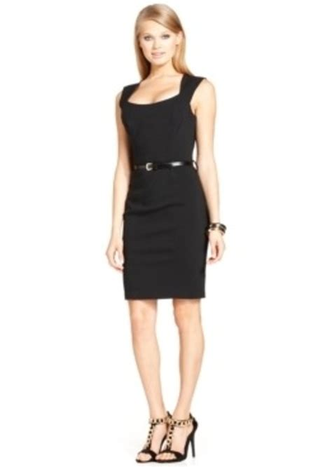 Xoxo Dress xoxo xoxo juniors sleeveless belted sheath dress