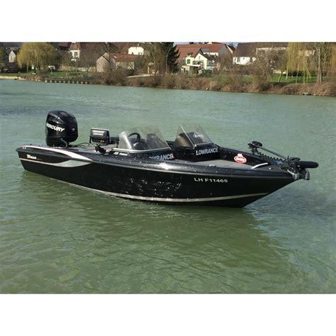 bass boat occasion triton 186 fishunter noir occasion bass boat center