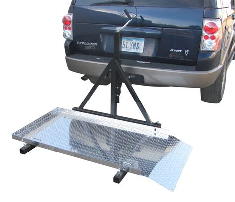 Trailer Hitch Racks Carriers by Trailer Hitch Mounted Scooter Wheelchair Carrier For 2