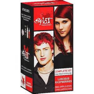 splat colors splat semi perm hair color walmart