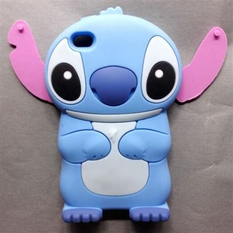 Softcase Back Lucu 3d Stitch Soft Cover Iphone 4 4s aliexpress buy new fashion lilo stitch back for apple iphone 4 4s soft