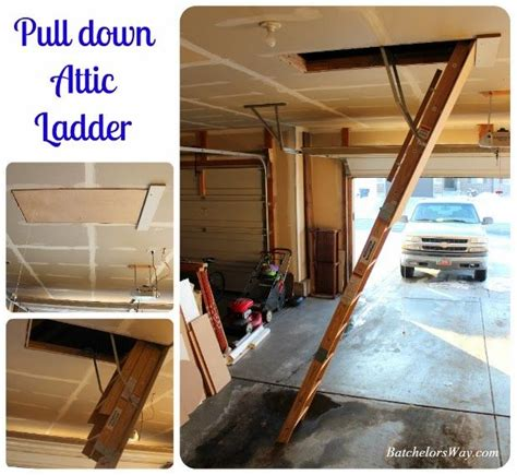 pull down attic ladder for the home pinterest