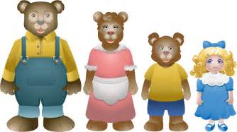 goldilocks and the three bears clipart clipart suggest
