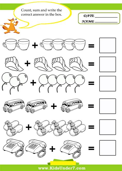 printable activities for toddlers free math worksheets for kids