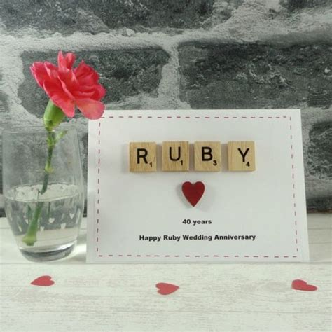 Wedding Anniversary Gifts Ruby by 25 Best Ideas About Ruby Wedding Anniversary Gifts On