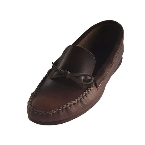 loafer moccasins s rubber sole loafer style brown real leather