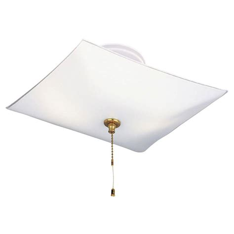 Westinghouse 2 Light White Interior Ceiling Semi Flush Chain Ceiling Light