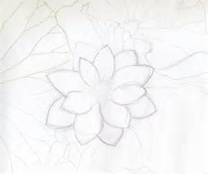 Drawing A Lotus Flower Lotus Flower Drawings Made Easy