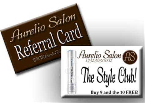 Aurelios Gift Card - rewards program aurelio salon spa
