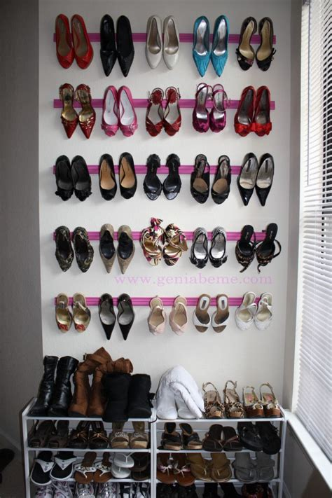 Sneaker Rack Solutions by Diy Family Shoe Storage Solutions Andrea S Notebook