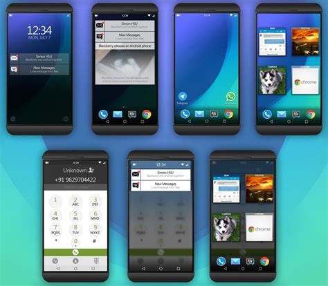 blackberry android blackberry android smartphone gets rendered may happen sooner than you think concept phones