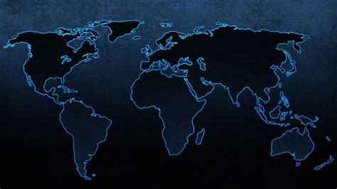World Map Hd Outline by World Map Wallpaper 1920x1080 55897