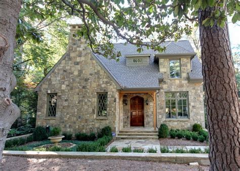 stone homes plans atlanta stone cottage with contemporary charm from castro