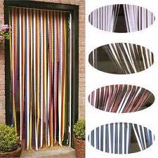 walk through door curtains walk through plastic strip curtain ebay