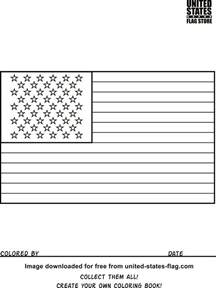 us flag coloring page free american flag coloring pages