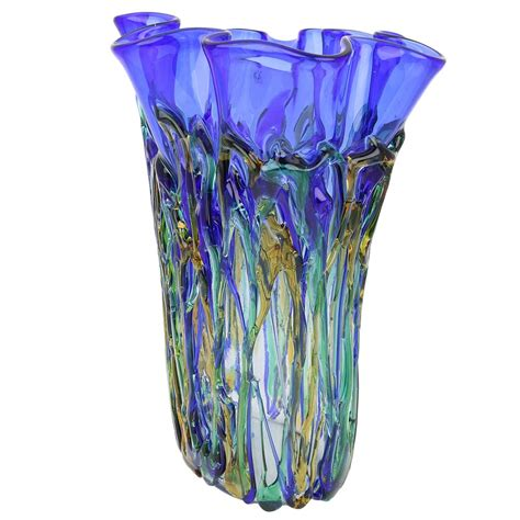 murano glass vase murano glass vases murano glass oceanos abstract vase