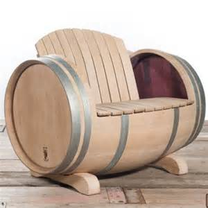 Wine Barrel Patio Furniture by Home Dzine Garden Ideas Garden Furniture Made From Wine