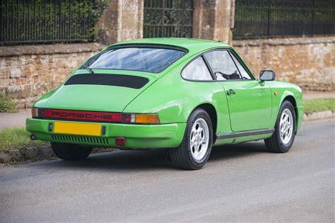 porsche 3 2 for sale 1985 porsche 911 3 2 in speedway green sold