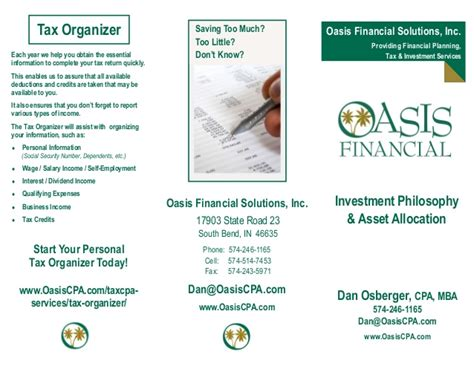 Financial Aid For Mba Wall Oasis by New Financial Planning Solutions With Oasis Financial For