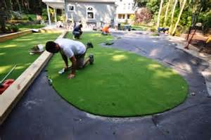 Backyard Putting Green Accessories Putting Greens Synthetic Golf Turf Sport Courts