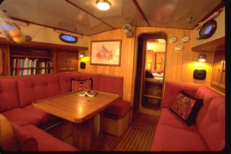 house boat interiors boat varnish wood interiors need tlc too boatus magazine