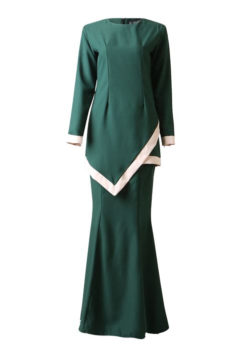 Baju Kurung Moden Beropol simple and sleek baju kurung moden free shipping zolace zolace