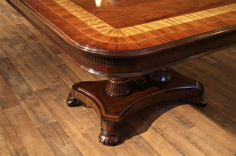 mahogany dining room table large mahogany dining table with leaves seats 12