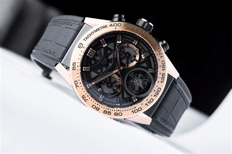 Tag Heuer Garde Rubber on with the avant garde tag heuer