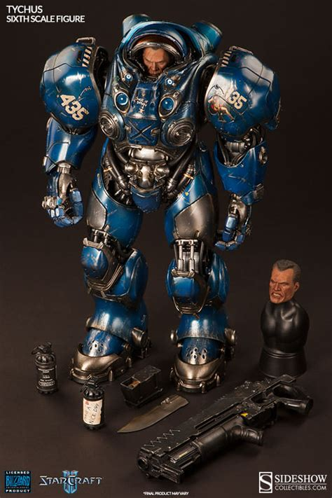 starcraft 2 figures starcraft tychus sixth scale figure by sideshow